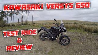 2. #159 Kawasaki Versys 650 2017 Detailed Test Ride & Review!