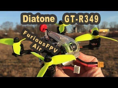 Diatone GT R349 Runcam VTX FuriousFPV Air Antenne