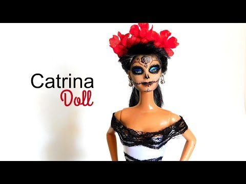 Make your own Catrina Doll! Day of the Dead ♥