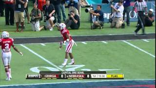 Tavarres King vs Alabama & Nebraska (2012)
