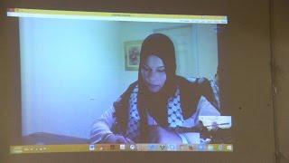 مناقشة رسالة ماجستير الباحثه شيماء شهاب