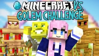 Golem Challenge | Modded Minecraft VS.