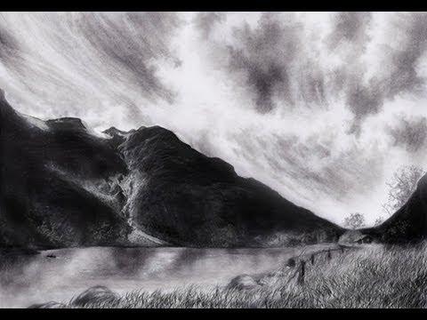 !!! Der Landschaftskurs !!!  Freude am Zeichnen // Online Zeichenkurs