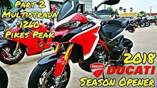 2. 2018 Ducati Season Opener Event (Part 2) | Multistrada 1260 Pike's Peak | Motovlog