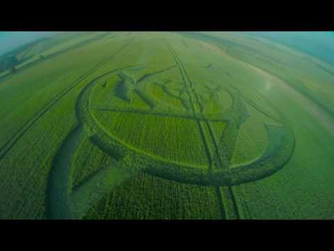 Außergewöhnlicher Kornkreis in England am 23.06. entdeckt