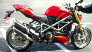 8. Ducati Streetfighter S Engine Rev - Termi Pipes!
