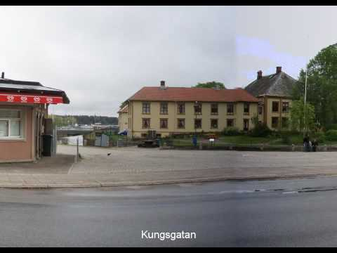 Åmål - A sightseeing in Åmål, situated beside lake Vänern in Sweden.