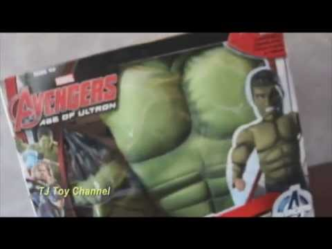 Avengers Age of Ultron Hulk Costume