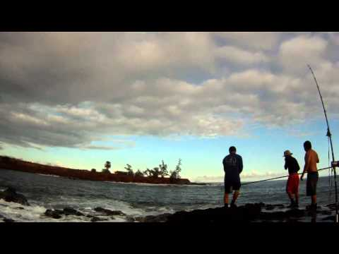 65 lb Ulua Caught on Kauai – July 21, 2012