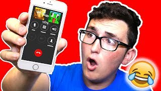 PRANK CALLING YOUTUBERS! (Minecraft Challenge Accepted)