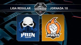 PAM eSports vs Pain Gaming - #LoLHonor10 - Mapa 2 - Jornada 10 - T11