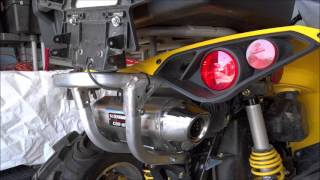 8. Yoshimura Sound Comparison to OEM Muffler on the Can Am Renegade 1000