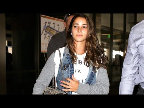 Gold Medal Olympic Gymnast Aly Raisman Welcomed To Los Angeles