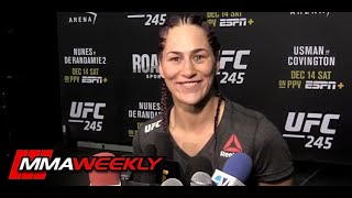 UFC Fighter details Missing Weight due to Period  (UFC 245) by MMA Weekly