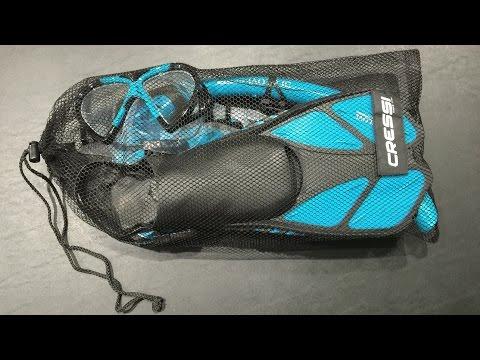 Cressi Adjustable Mask & Fin Snorkel Set Review