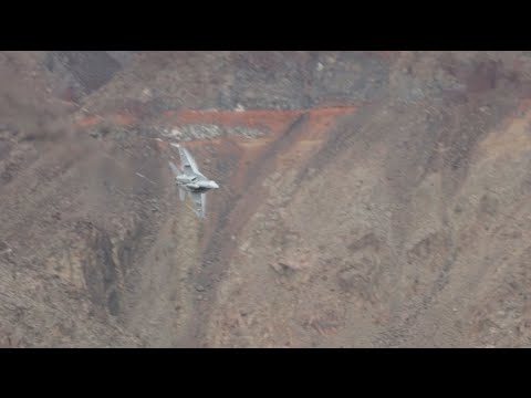at - While on a roadtrip across country two dorks randomly out exploring on a ridge with no clue are surprised by two F18's during training in Death Valley. At the time we had no idea the spot was...