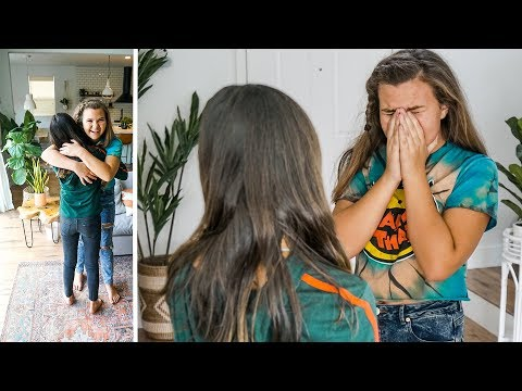 Family quotes - BEST FRIENDS REUNITED AFTER MOVING AWAY! VERY EMOTIONAL Birthday Surprise!
