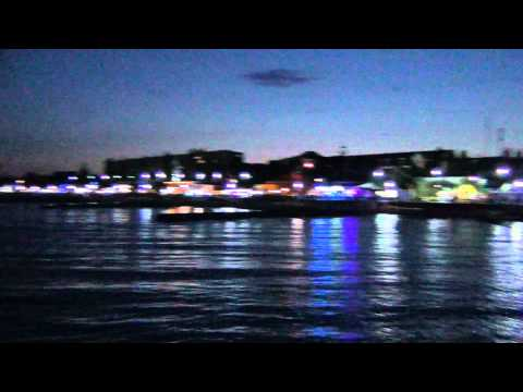 Феодосия поселок Приморский вечерняя набережная