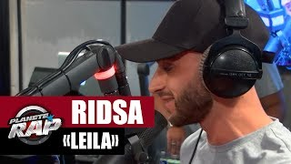 "Video Ridsa ""Leila"" en live #PlanèteRap MP3, 3GP, MP4, WEBM, AVI, FLV Mei 2017"