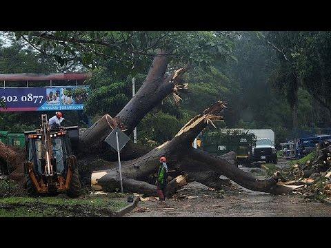 Καραϊβική: Σε κυκλώνα ενισχύθηκε η τροπική καταιγίδα Ότο
