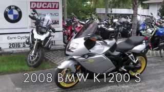 6. Pre-Owned 2008 BMW K1200 S Silver at Euro Cycles of Tampa Bay