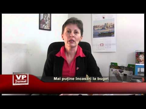 Mai puține încasări la buget