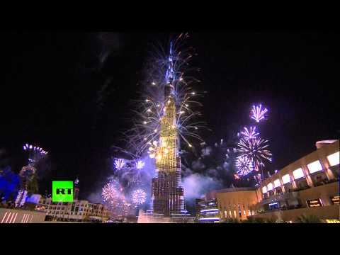 Новогодний фейерверк в Дубае вошел в книгу рекордов Гиннеса