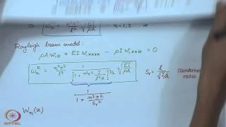 Mod-01 Lec-25 Modal Analysis Of Beams