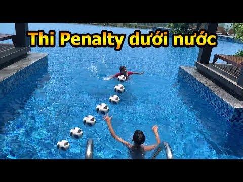 Thử Thách Bóng Đá sút Penalty dưới nước duy trung so tài neymar nhí với trọng tài Đỗ Kim Phúc - Thời lượng: 10:48.