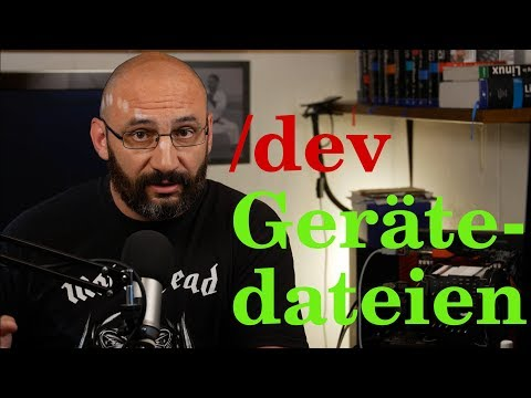 Linux lernen | Geräte im Dateisystem /dev (видео)