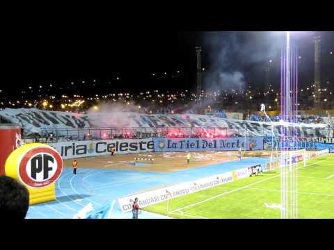 Video - SALIDA DEPORTES IQUIQUE 2011 - Furia Celeste - Deportes Iquique - Chile