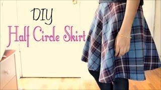 Video How to Make a Half Circle Skirt (without a pattern) MP3, 3GP, MP4, WEBM, AVI, FLV Juli 2018
