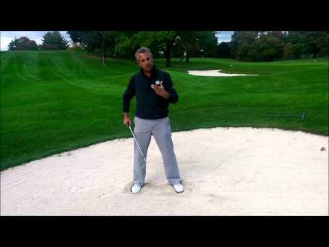 WHGC Golf Lesson – How to Hit a Standard Bunker Shot