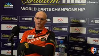 """Darius Labanauskas: """"We were ready to play darts in front of fans, now it's a big difference"""""""
