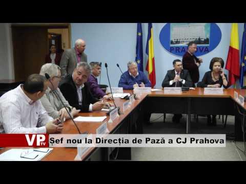 Șef nou la Direcția de Pază a CJ Prahova