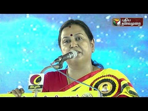 Premalatha-vijayakanth-election-campaign-in-Nellai