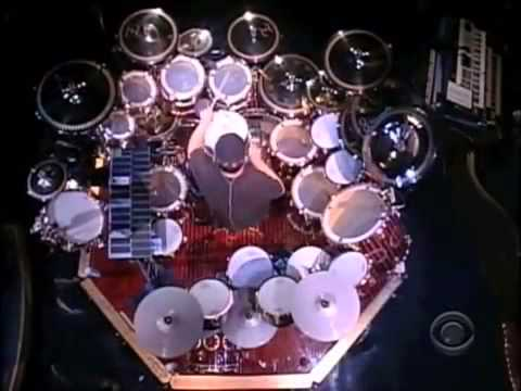 Neil Peart Drum Solo   Letterman, June 9, 2011