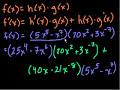 Calculus: Derivatives 7 Video Tutorial