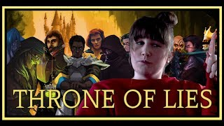 Hey guys!As you know I backed the Kickstarter for Throne of Lies. Alpha and Beta keys have been sent out and well I have been playing today! This was played in Alpha so do bare that in mind!After 5 or 6 games things start to make sense, but you do need to learn all the different roles! It is super fun! INFO:Twitter: @TheThroneOfLiesWiki: http://tol.wikia.com/wiki/Throne_of_Lies:_The_Online_Game_of_Lies_and_Deceit_Wikia Steam Greenlight: http://steamcommunity.com/sharedfiles/filedetails/?id=837545985Join the Discord community!https://discord.gg/wUxXE9 ______________________________________________Why read this when you could actually find out in far better detail by watching the video yourself? ;)Make sure to like and Subscribe! Subscribe: http://www.youtube.com/user/squirrelsmk?sub_confirmation=1 Twitter: https://twitter.com/SquirrelsMK Facebook: https://www.facebook.com/Squirrelsmk Town of Salem: SquirrelsMKTwitch: twitch.tv/squirrelsmk__________HOWEZY'S INFO!Howezy's YouTube: youtube.com/user/howezyHowezy Twitch: twitch.tv/howezy16 Howezy's Twitter: twitter.com/Howezy16__________The premise of Throne of Lies:Traitors, also known as The Black Rose are rumored to be plotting against the castle. The loyal people of The Blue Dragon faction must discover who has committed Treason by using social deduction and clues.The game is simple: Kill the bad guys (The Black Rose faction or The Cult faction) before they kill the good guys (The Blue Dragon): Kill or be killed, but you need to kill the right one.At night, bad players (The Black Rose/Cult) will generally murder or disrupt the good players (The Blue Dragon faction): These players can murder other players at night by use of night abilities. The Black Rose and Cult factions will be able to talk at night and know each other.On the other hand, at night, the good players (The Blue Dragon faction) will attempt to either investigate, defend or support others, with a select few being able to kill. They will attempt to determi