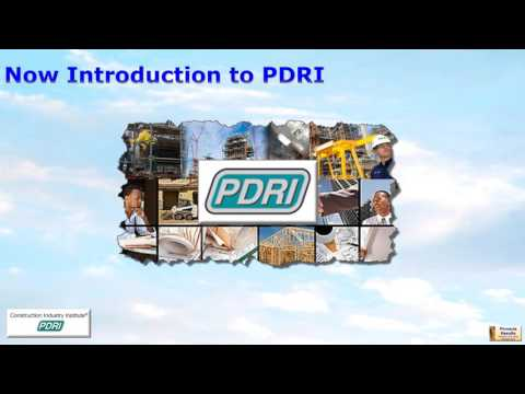 PDRI Explanation Video with FEL context   James McCuish
