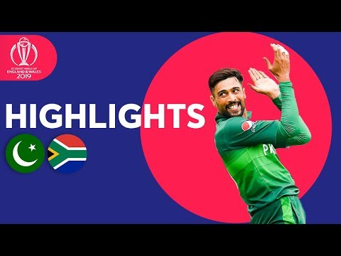 Haris Sohail Hits 89! | Pakistan vs South Africa - Match Highlights | ICC Cricket World Cup 2019