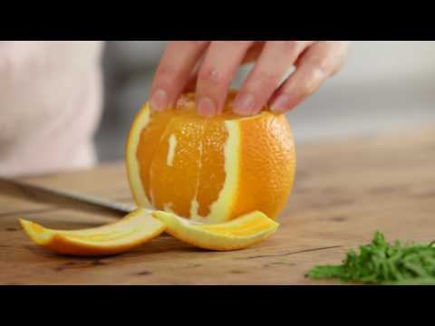 How to Chiffonade Basil & Segment Orange | Everyday Gourmet S7 E55