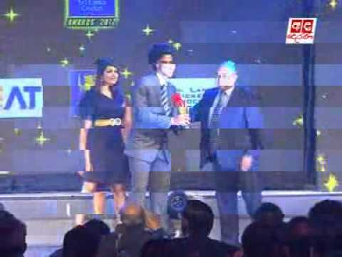 Sangakkara shines at CEAT Sri Lanka Cricket Awards 2012