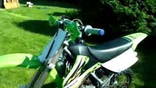 6. Kawasaki kx 85 Small Wheel 2004