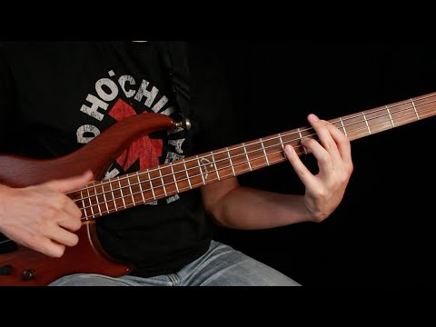 Red Hot Chili Peppers - Higher Ground Bass Tab And Tutorial