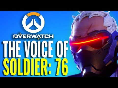 The Voice of Soldier: 76 - Why He Sounds So Familiar [Overwatch]