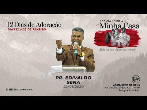 Pr. Edivaldo Sena - A minha casa será alvo de mila