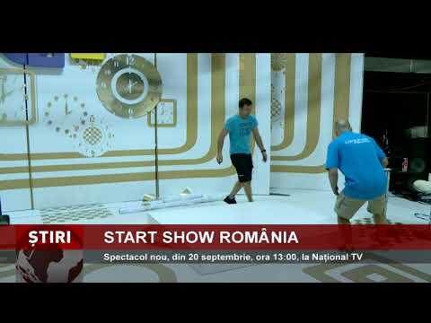Start Show România, din 20 septembrie, ora 13:00, la Național TV