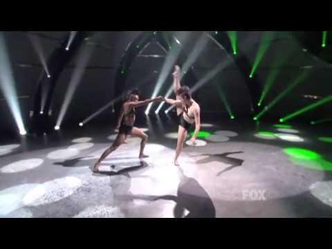 Melanie and Sasha Top 8 So You Think You Can Dance Season 8 July 27, 2011
