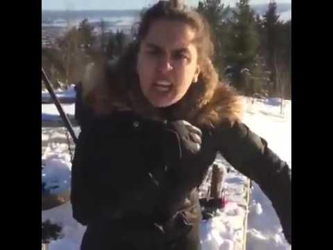 صرخة فتاة مغربية في النرويج